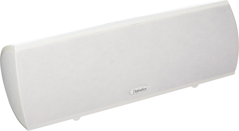 Definitive Technology ProCenter 1000 Compact Center Speaker (Single, White)