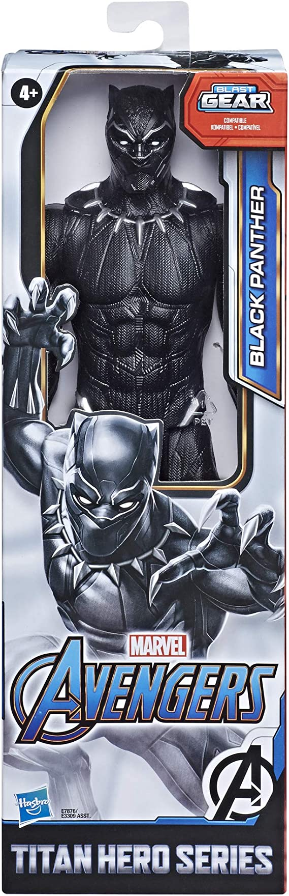 Avengers Marvel Titan Hero Série BLACK PANTHER Action Figure