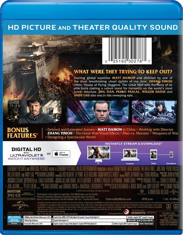 Great Wall 2 Blu-Ray Edizione: Stati Uniti Italia Blu-ray ...