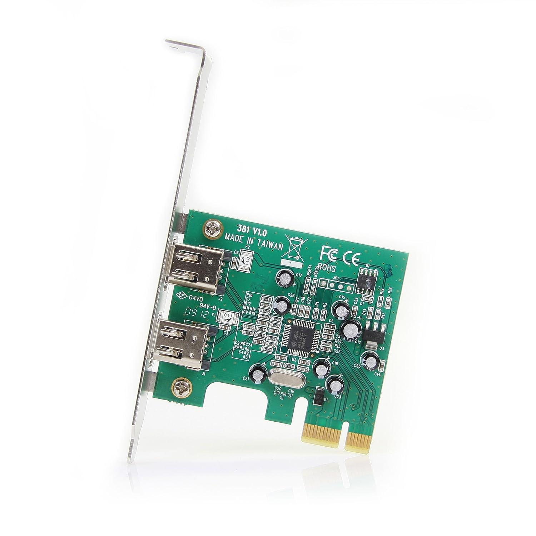 Amazon.com: 2PORT Firewire 400 Pci Card: Electronics