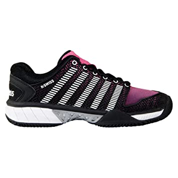 K-swiss performance Zapatilla hypercourt express hb black/shocking pink: Amazon.es: Deportes y aire libre