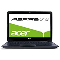 Acer Aspire One 722 29,5 cm (11,6 Zoll) Netbook (AMD C-60, 1GHz, 4GB RAM, 320GB HDD, ATI HD 6290, kein Betriebssystem) schwarz