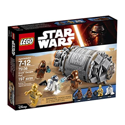 Lego Star Wars Droid Escape Pod 75136