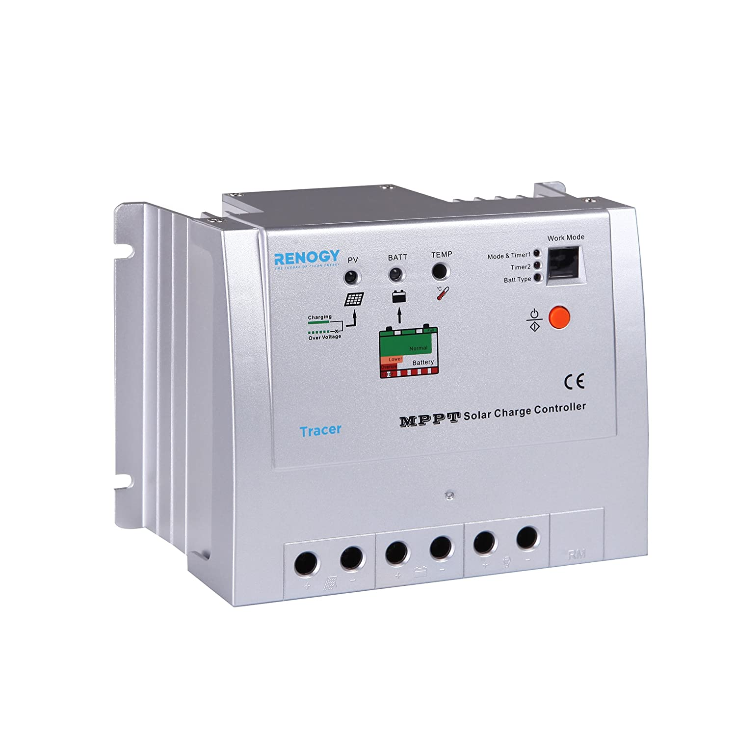 Phase Wiring Microcare Solar Components Renogy 20 Amp Mppt Charge Controller Renewable Energy Controllers Garden Outdoor