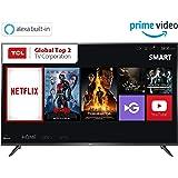 TCL 125.64 cm (50 inches) 4K Ultra HD Smart LED TV 50P65US-2019 (Black)   Built-In Alexa