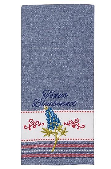 Kay Dee Designs R3770 Home Sweet Texas Embroidered Tea Towel