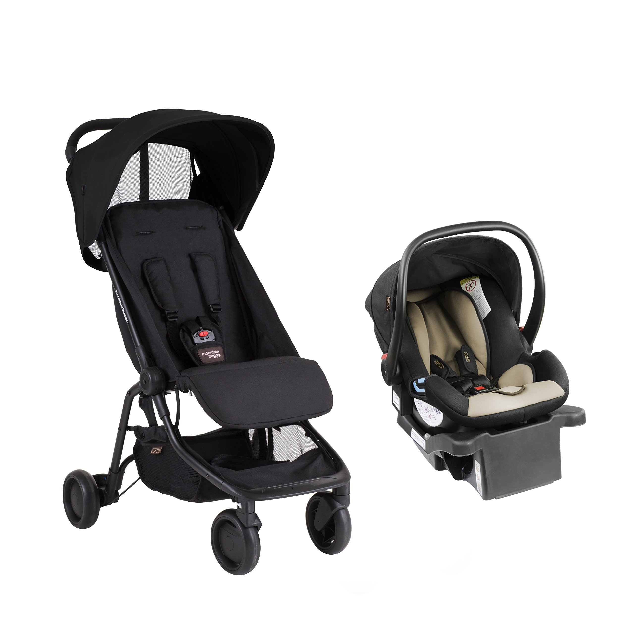 Mountain Buggy Nano - Protect Travel System, Black