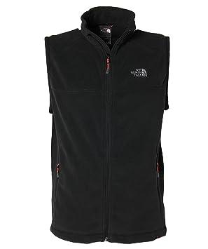 195de50dff THE NORTH FACE veste sans manches en polaire pour homme 100 aurora M Noir -  Noir