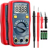 AstroAI Digital Multimeter, 1.5v/9v/12v Battery Voltage Tester Auto-Ranging Voltmeter/Ohmmeter/DMM with Non-Contact…