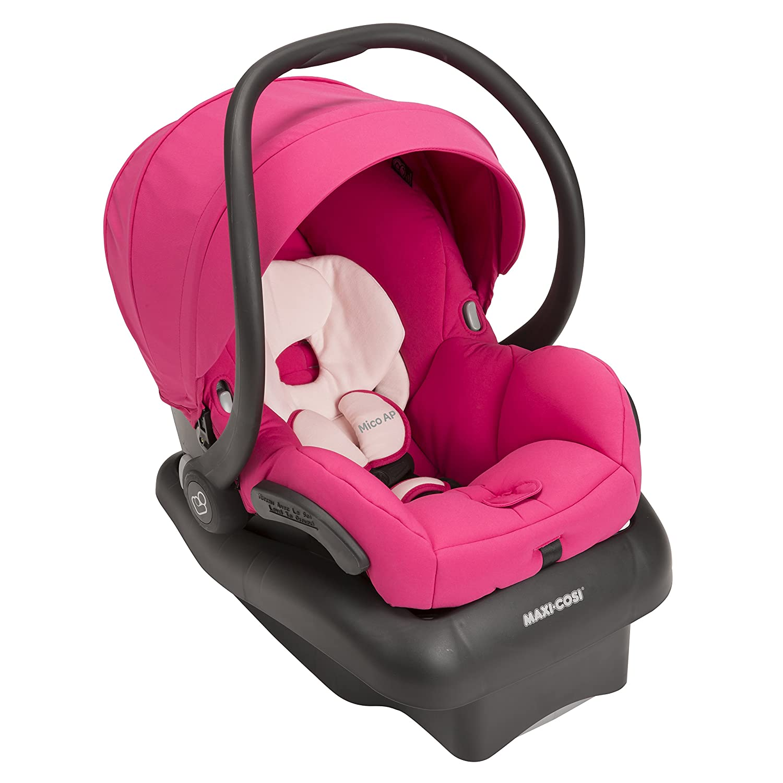 Maxi-Cosi Mico AP Infant Car Seat, Bright Rose IC223DCO