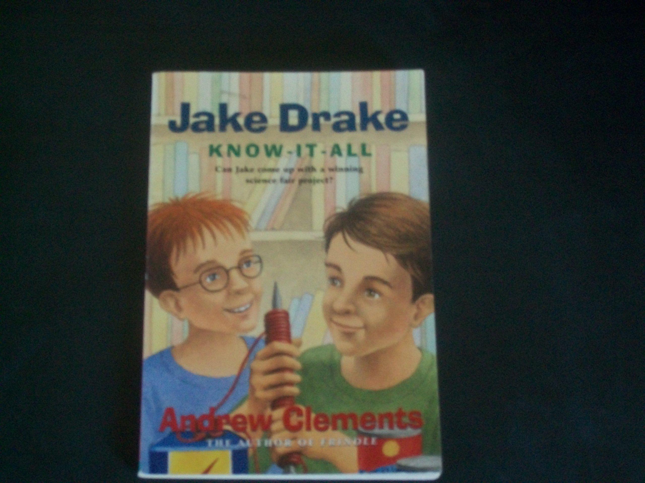 Read Online Jake Drake Know-It-All pdf epub