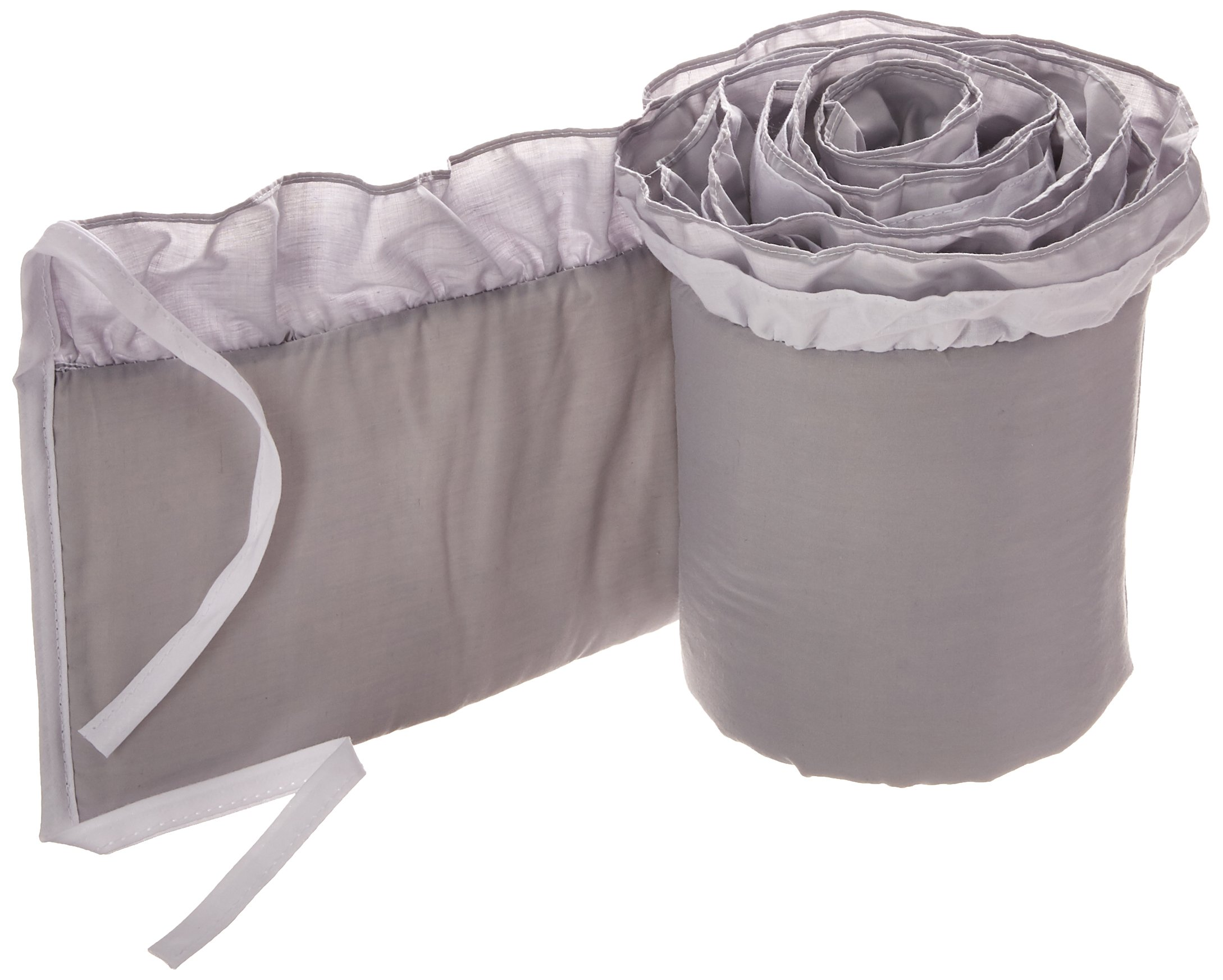 Babykidsbargains Regal Cradle Bumper, Grey, 15'' x 33''