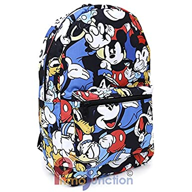 Mickey Group 65329 Disney Mickey Mouse Friends All Over Prints School Backpack