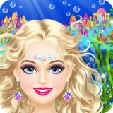 Magic Mermaid - Spa, Makeup and Dress Up Game for Girls