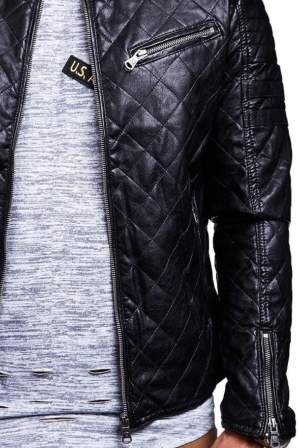 En Accessoires Cuir Matelassé Vêtements Styles 1021 M Homme Veste Et Mt qH7pEp