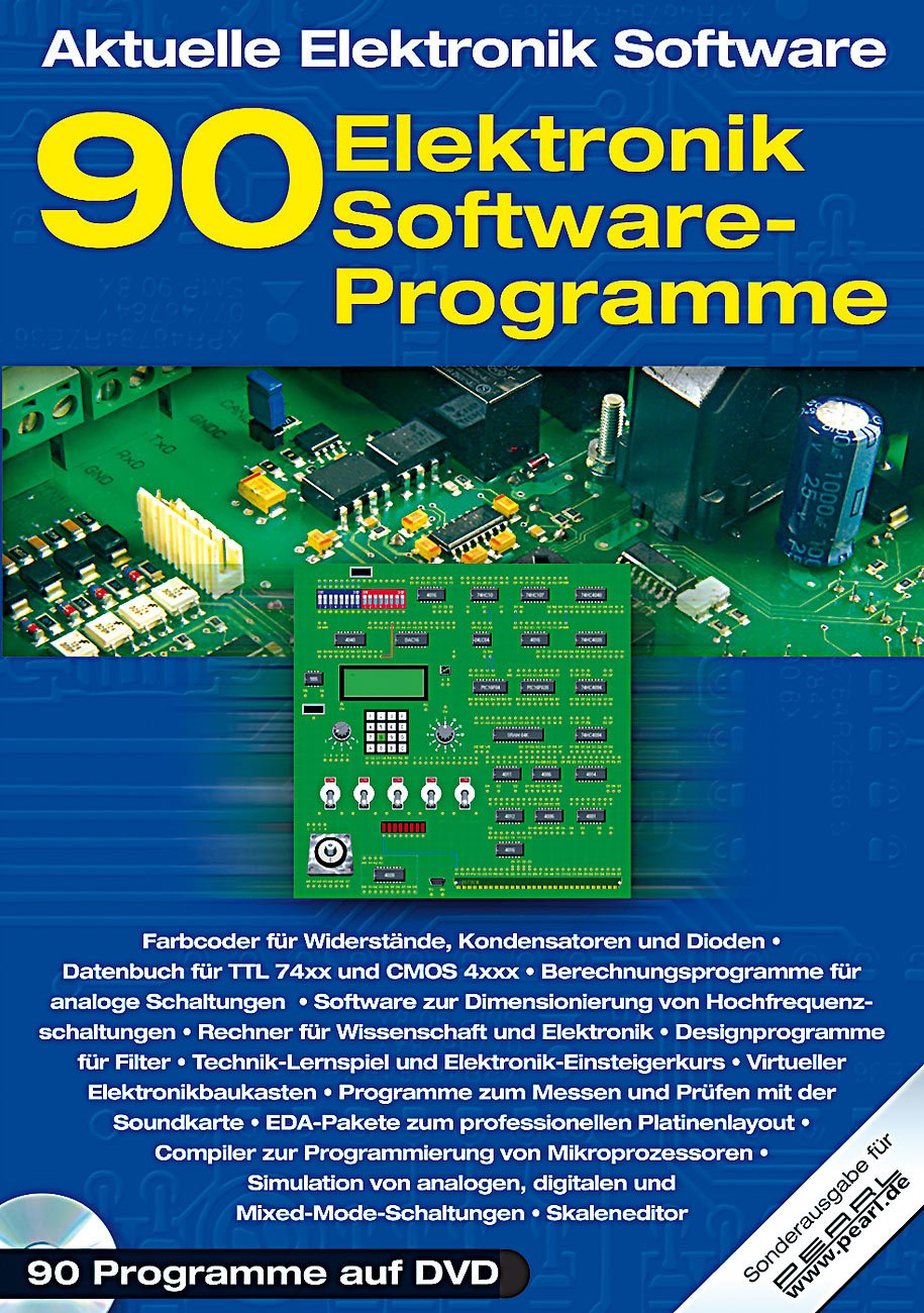 90 Elektronik Software-Programme für die Praxis: Amazon.de: Elektronik