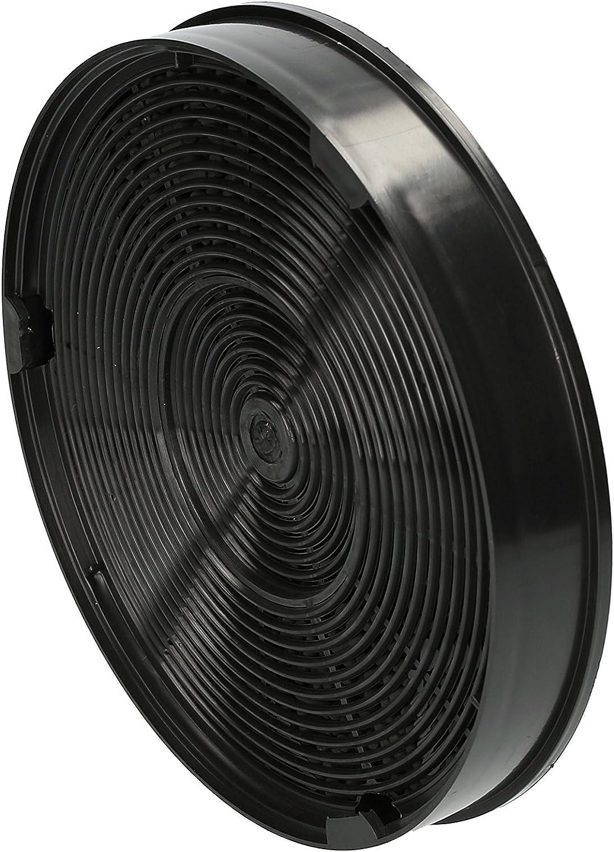 ?WESSPER/® Campana extractora filtro para Faber MAXIME MIRROR redonda, carb/ón