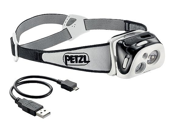 Petzl Reactik Lampe Frontale Mixte Adulte Noir Taille Unique