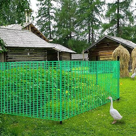 Amazon com : V Protek Safety Fence, Snow Fencing, Deer Netting, 39