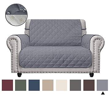 Amazon.com: CHHKON - Funda para sofá de dos plazas ...