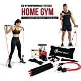 INTENT SPORTS Portable Home Gym – Dynamic Total Body Workout Package with Resistance Bands, Collapsible Bar, Straps, Handles – Strength Training for Home, Travel, 58 Workout Videos (Patent Pending)