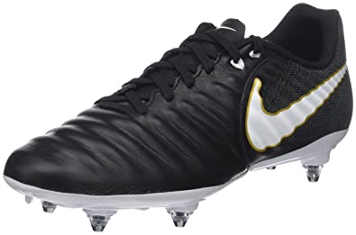 wholesale dealer ea0f1 1128a Nike Tiempo Ligera IV SG, Chaussures de Football Hommes, Noir White-Black-