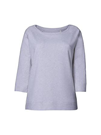 Maratus Damen Bio Sweatshirt mit weitem Halsausschnitt
