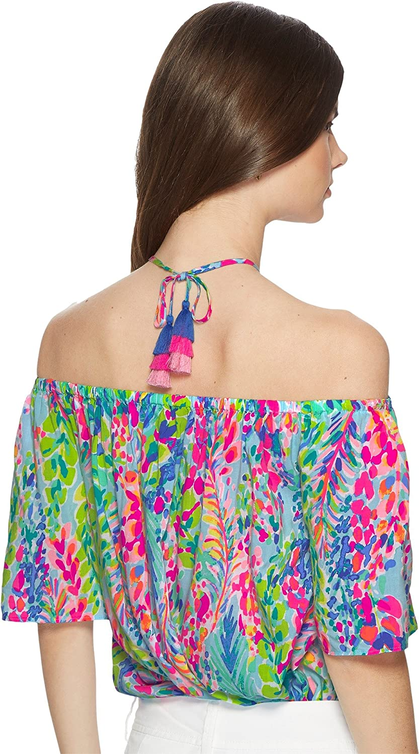 ddb20726d256b Lilly Pulitzer Women s Sain Top  Amazon.in  Clothing   Accessories