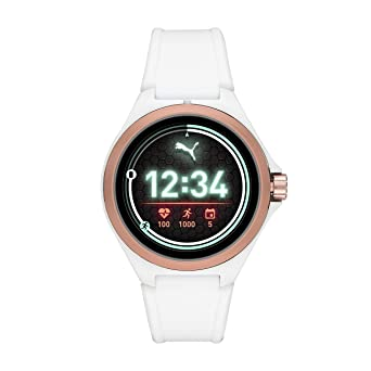 PUMA Sport Smartwatch Lightweight Touchscreen with Heart Rate, GPS, NFC, and Smartphone Notifications
