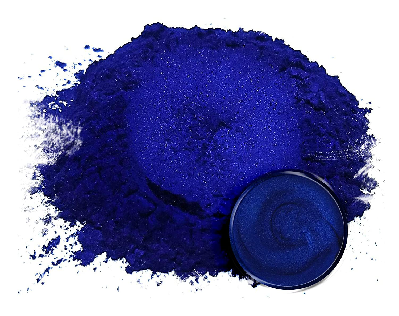 "Eye Candy Mica Powder Pigment ""Nokon Blue"" (50g) Multipurpose DIY Arts and Crafts Additive | Woodworking, Resin, Paint, Epoxy, Nail Polish, Lip Balm"