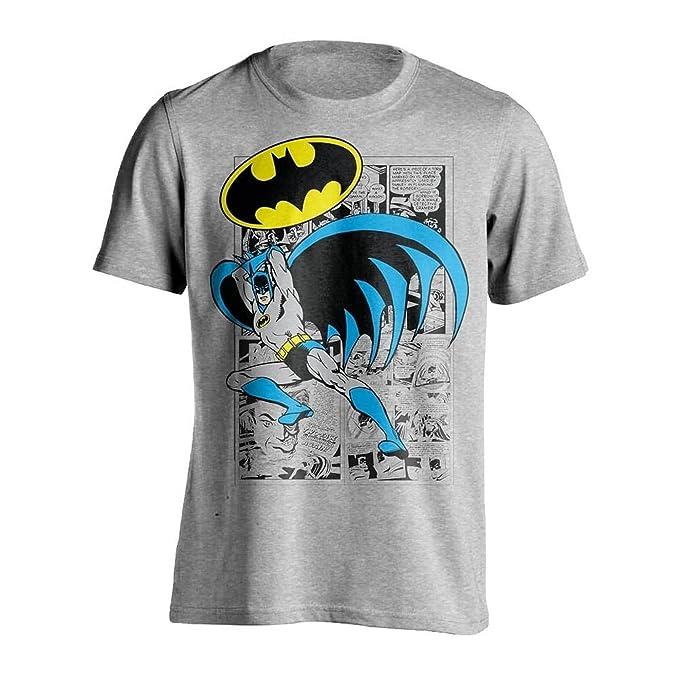 16b438e72 DC Comics - Camiseta de Batman sobre Comic para Hombre  Amazon.es  Ropa y  accesorios