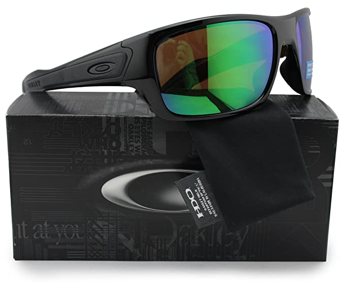 3e7db66a59 Image Unavailable. Image not available for. Colour  Oakley OO9263-13  Turbine Polarized Sunglasses ...