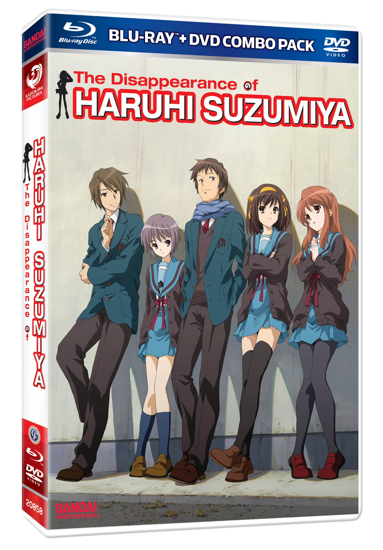 The Disappearance of Haruhi Suzumiya (Blu-ray/DVD Combo)