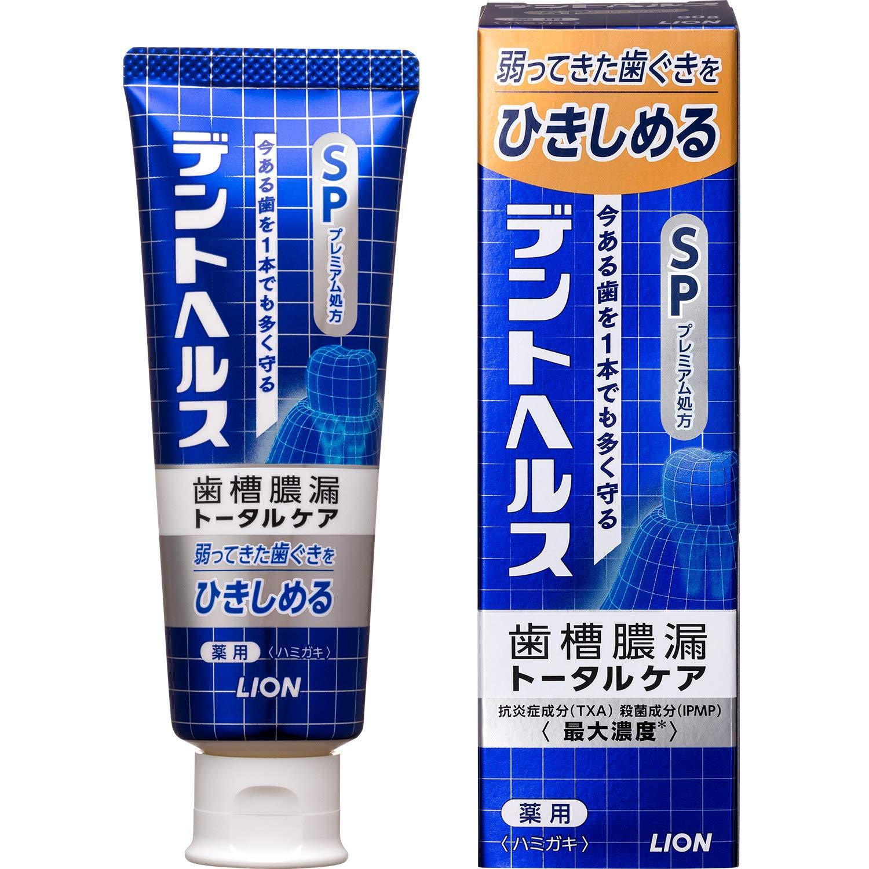 歯槽膿漏予防に デントヘルス 薬用ハミガキSP 90g (医薬部外品) product image