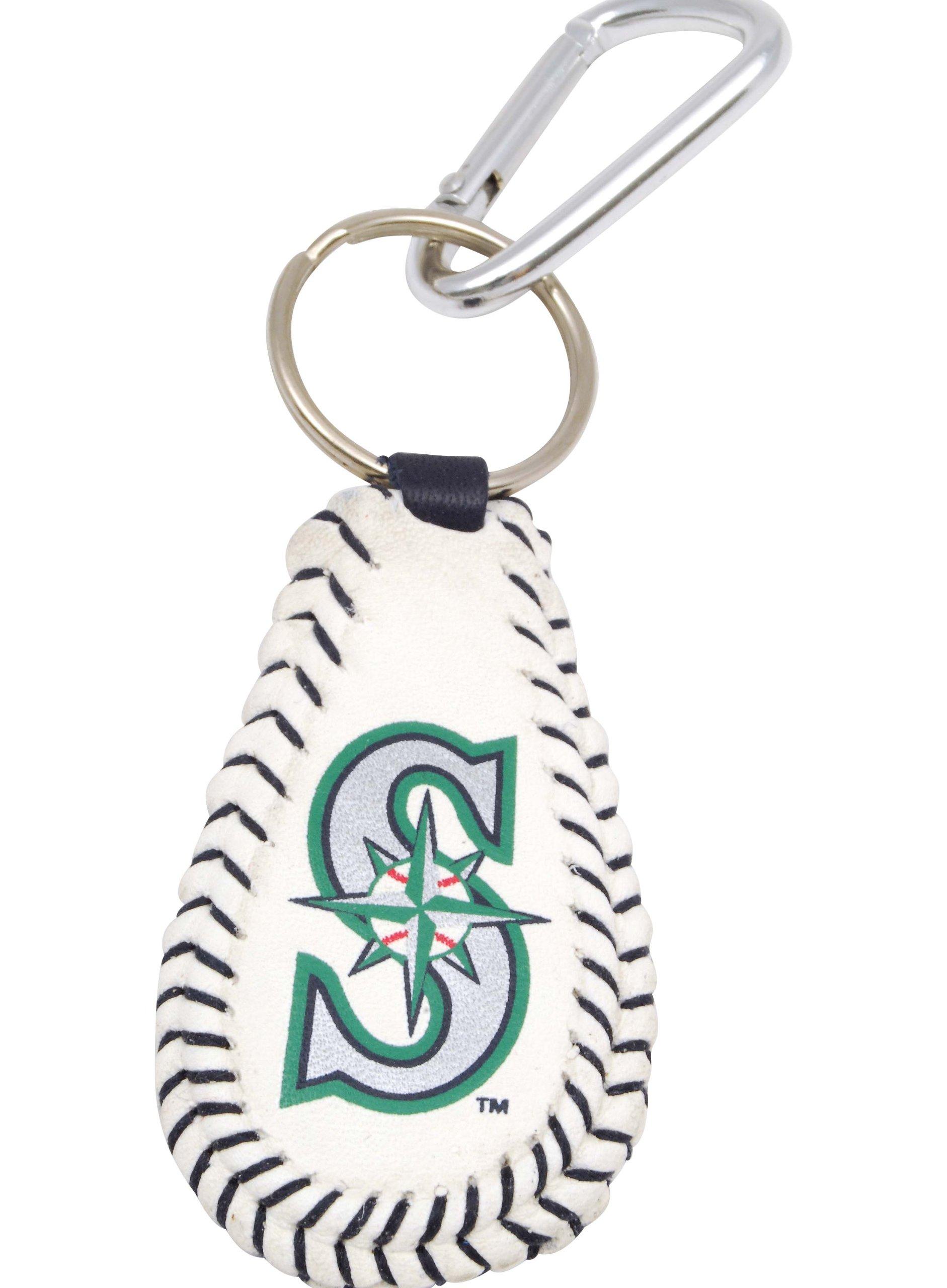 MLB Seattle Mariners Baseball Keychain