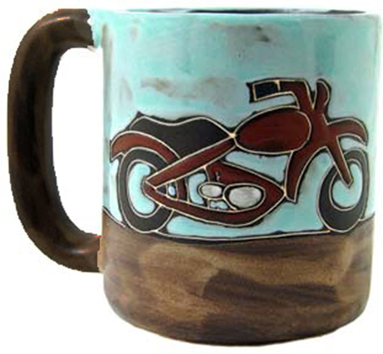 Mara Stoneware Mug 16 oz 510T8 Motorcycles