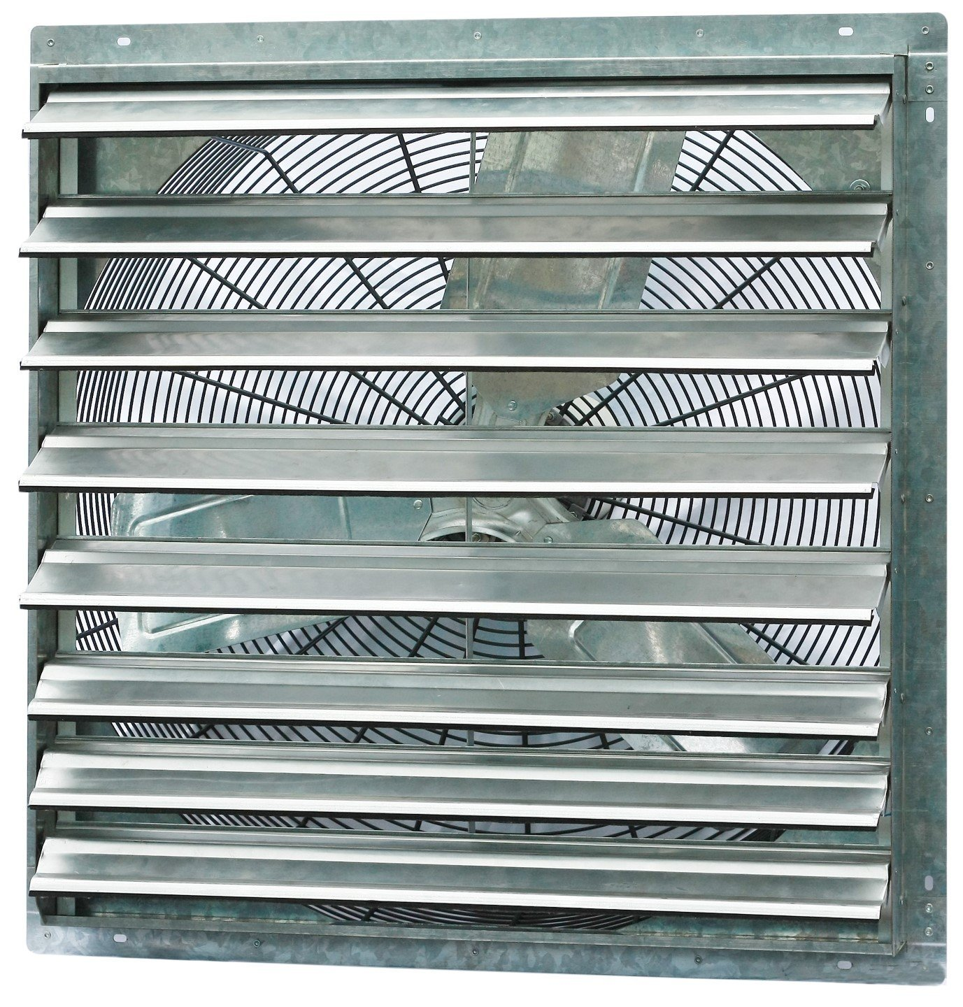 iLIVING ILG8SF30S Wall-Mounted Single Speed Shutter Exhaust Fan, 30'' by Iliving