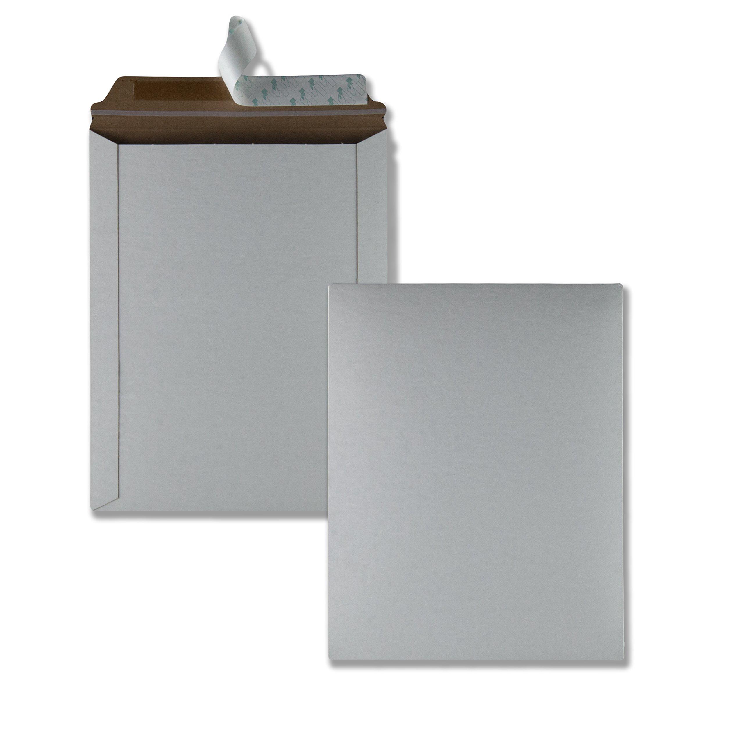 Quality Park 64015 Photo/Document Mailer, Redi Strip, 9 3/4 x 12 1/2, White (Box of 25)