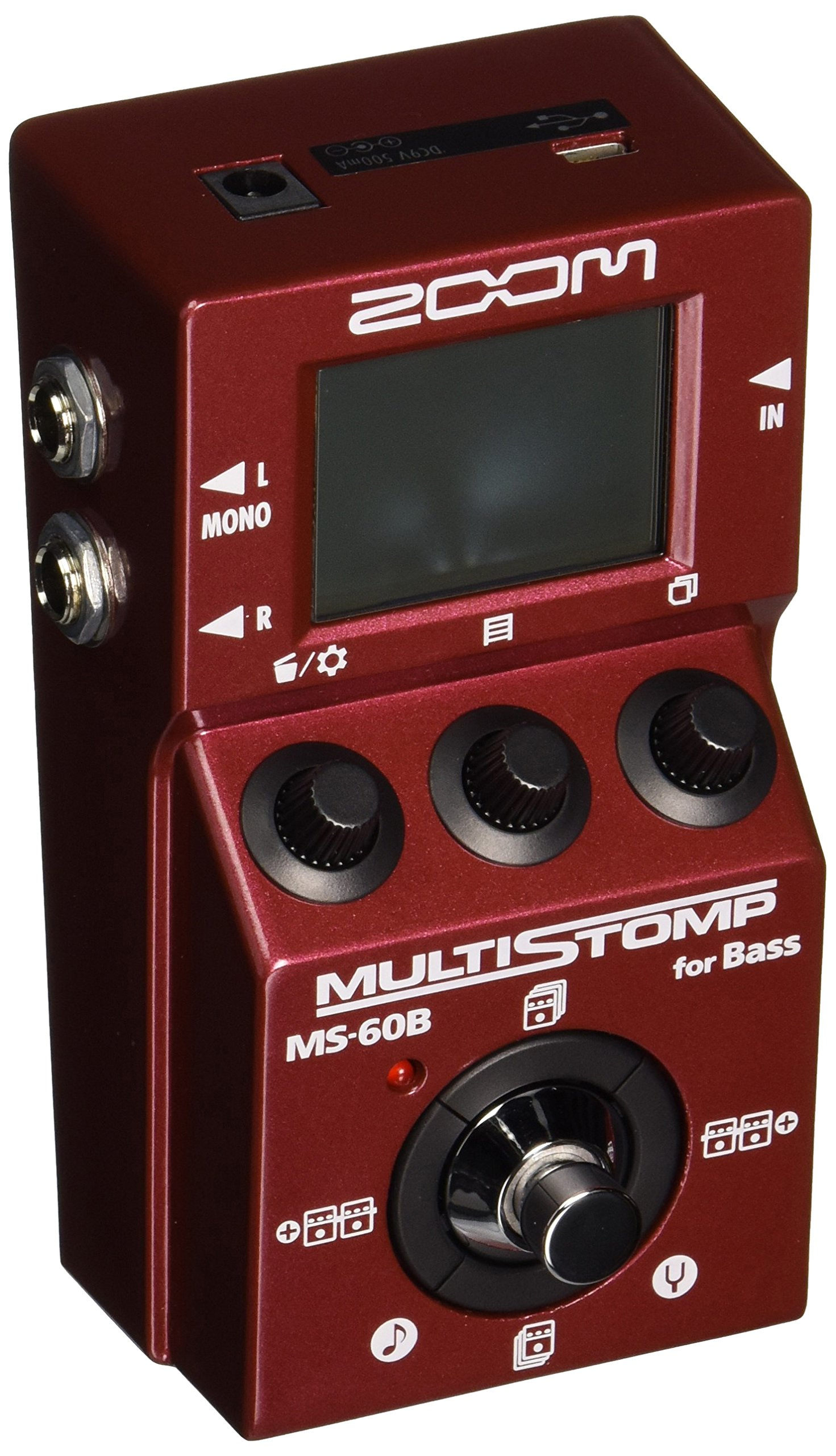 Zoom MS-60B Multi-Stomp Bass Pedal by Zoom