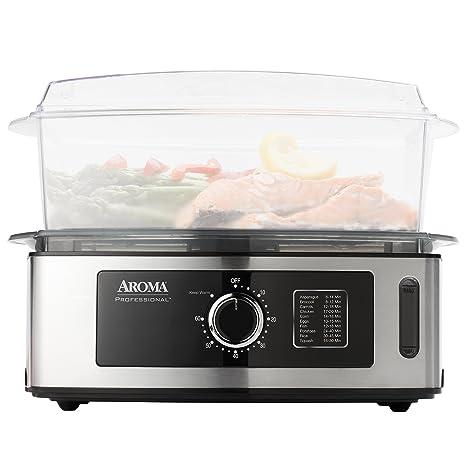 Amazon.com: Aroma Housewares – Vaporera de alimentos de 5 ...