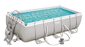 Piscina Desmontable Tubular Bestway Power Steel 404x201x100 cm ...
