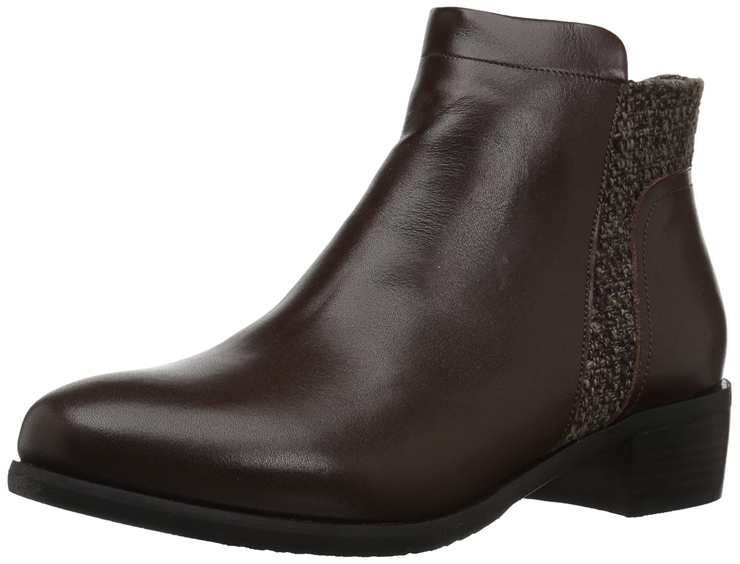 Propet Women's Taneka Ankle Bootie B06XRPZ915 10 W US|Brown
