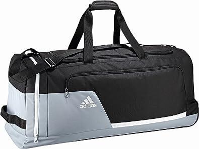 recibo De ninguna manera varonil  adidas Tiro13 - Bolsa de deportes con ruedas (talla XL) gris, dimensiones  36x36x80 cm: Amazon.es: Deportes y aire libre
