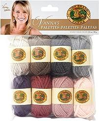 Lion Brand Yarn 865-202 Vanna's Palettes Yarn, Romantic