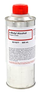 N-Butyl Alcohol Reagent, 500mL - The Curated Chemical Collection