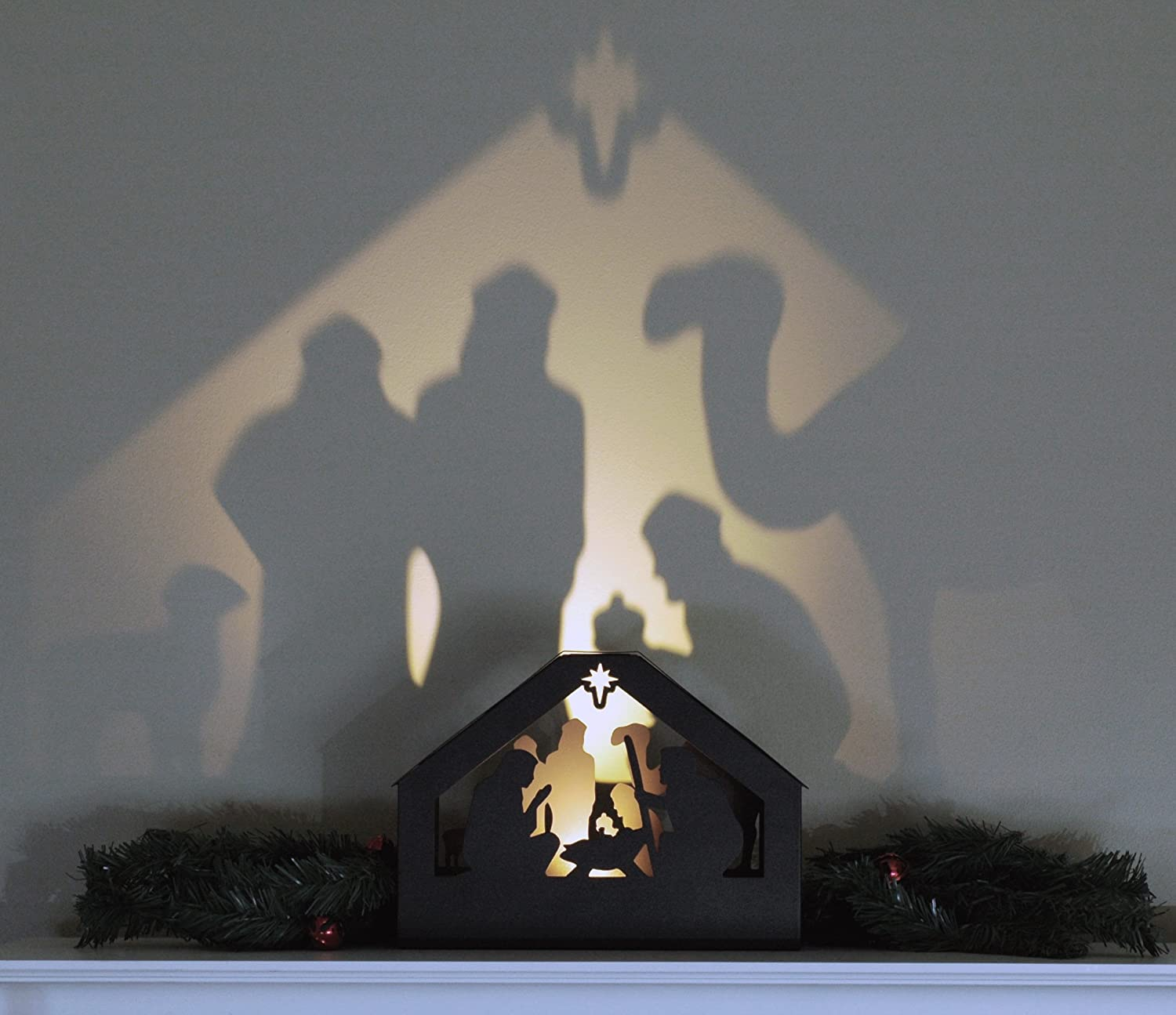 Amazon nativity shadow box home kitchen aloadofball Gallery