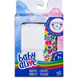 Baby Alive Dolls - Diapers Refill - for use with face Paint Fairy, Baby go Bye Bye, Sweet Spoonfuls, Finger Paint & Others - Kids Toys Ages 3+