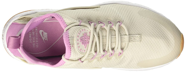 NIKE Women's Air Shoe Huarache Run Ultra Running Shoe Air B06ZZG1FD3 6.5 B(M) US|Light Bone/Orchid-gum Yellow 91902c
