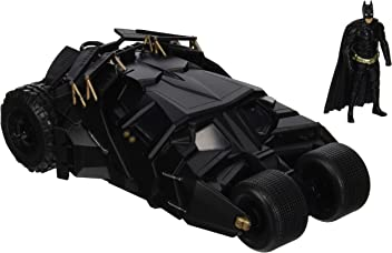 Jada Toys Boys Metals 1:24 2008 Batmobile with Figure (2 Piece)