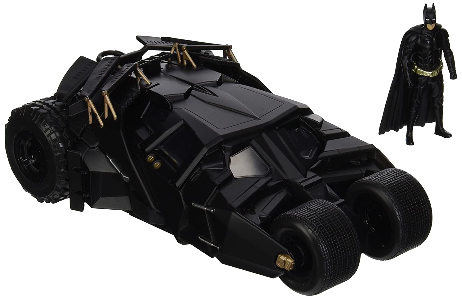 Jada Toys Boys Metals 1 24 2008 Batmobile with Figure
